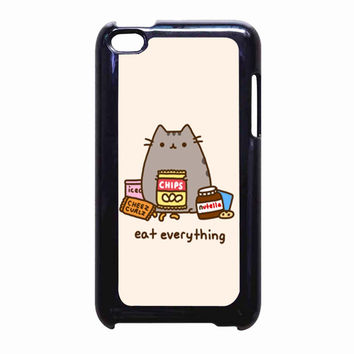 Pusheen The Cat Perfect Weekend FOR IPOD TOUCH 4 CASE *PS*