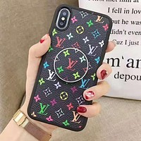 Louis Vuitton LV Supreme Gucci Fashion iPhone Phone Cover Case For iphone 6 6s 6plus 6s-plus 7 7plus 8 8plus iPhone X XR XS XS MAX Black