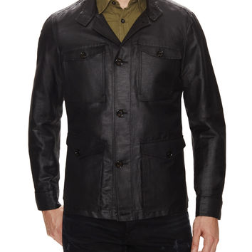 Allegri Men's Techno Jacquard Field Jacket - Black -
