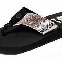 Yellow Box Savana Pewter Flip Flops
