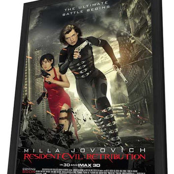 Resident Evil: Retribution 11x17 Framed Movie Poster (2012)