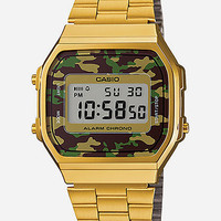 Casio Vintage Collection A168webc-3Vt Watch Gold One Size For Men 26839362101