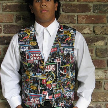 Star Wars/ Marvel Waist Coat, Vest, Prom