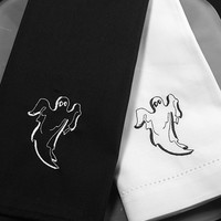 Halloween Ghost Napkins - Set of 4 cloth napkins