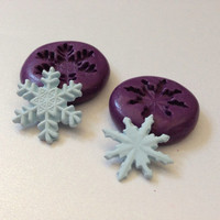 Miniature Snowflakes Silicone Flexible Mold