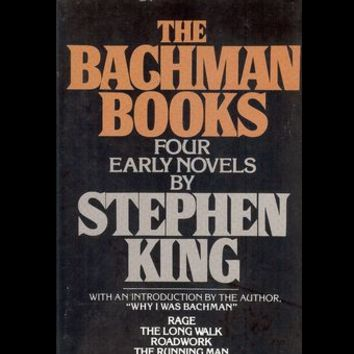 The Bachman Books : Four Early Novels by Stephen King (1985 Hardcover)