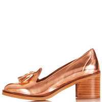 JANSKY Mid Heel Slip On's - Heels  - Shoes