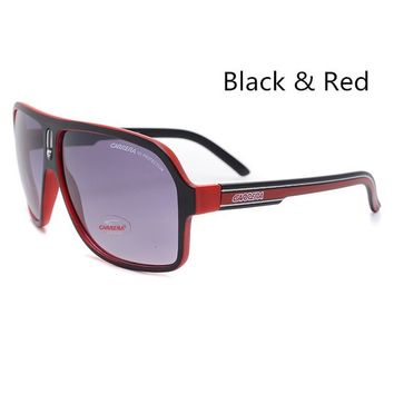 Fashion Men's Women's Retro Sunglasses 5 Colors Unisex Matte Frame Carrera Glasses Brand New In Box
