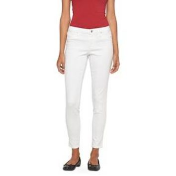 Women's Mid-rise Jegging White - Mossimo™
