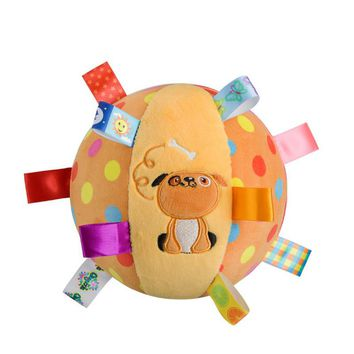 2017 Dog plush toys Baby musical Ball Rattle bell Toy brinquedo juguetes jouet crib stroller bed Mobile eductional peluche bebes