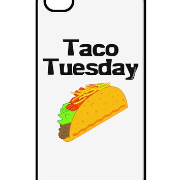 Taco Tuesday Design iPhone 4 / 4S Case  by TooLoud