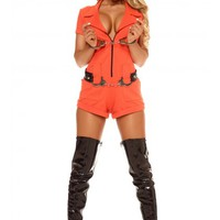 Booked 2pc Sexy Inmate Costume