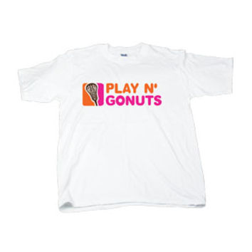 Lacrosse Play N Go Nuts Short Sleeve Tee-longstreth