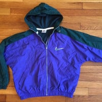 Vintage Womens Nike Windbreaker Rare Jacket size Medium