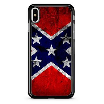 Rebel Flag iPhone X Case