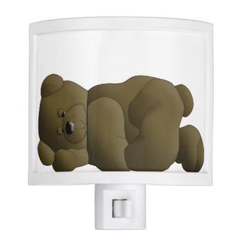Teddy Bear Cartoon Night Light