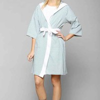 Nine Space Jersey Robe- Teal M/L