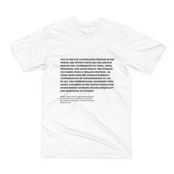 Knowledge Drop: Wealth Inequality Tee