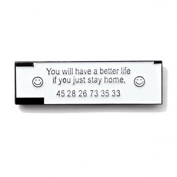 Stay Home Fortune Pin
