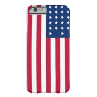 Stars and Stripes American Flag iPhone 6 Case