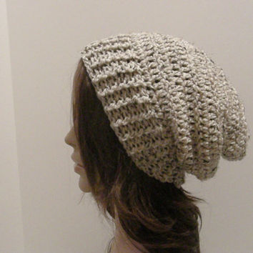 Everyday Slouch Hat  Oatmeal