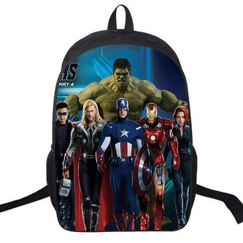 2016 New Kids Backpack Spiderman Children School Bags For Boys Orthopedic Child Boy  BookBag Knapsack Mochila