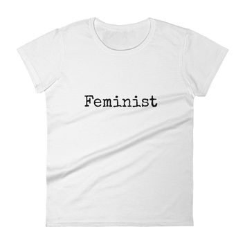 Feminist Women's short sleeve t-shirt