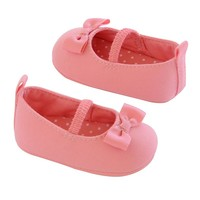 Carter's Mary Jane Canvas Crib Shoes - Baby Girl (Pink)