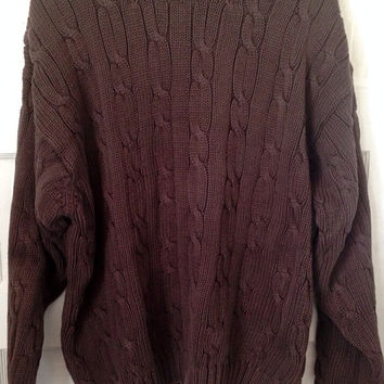 Vintage J.Crew Cable Knit Sweater