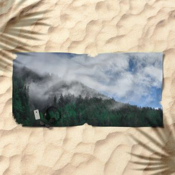 The Air I Breathe Beach Towel by Mixed Imagery