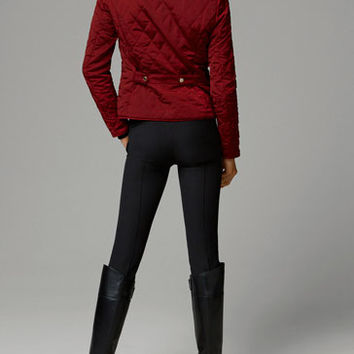 COLLARLESS QUILTED JACKET - View all - Jackets - WOMEN - United Kingdom