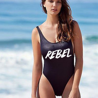 Rebel One Piece Swimsuit