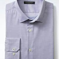 Grant-Fit Supima® Cotton Basketweave Shirt | Banana Republic