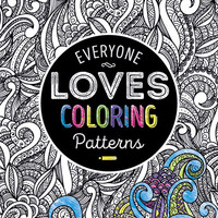everyone loves coloring adult coloring books - patterns Case of 24