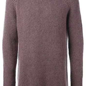 DCCKIN3 Haider Ackermann ribbed knit sweater