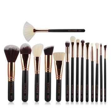 15Pcs Makeup Brush Make-up Brush Cosmetic Women Foundation Lip Eyeshadow Eyeliner Make Up Pincel Maquiagem Eye Brush Set