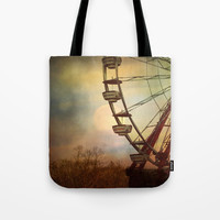 After The Thrill Is Gone Tote Bag by Theresa Campbell D'August Art