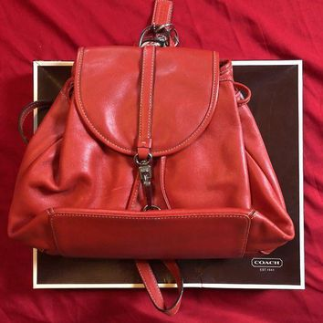 DCCKJY6X coach backpack purse Leather Used