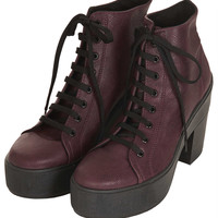 ASTRIX Platform Lace Up Boots - Topshop