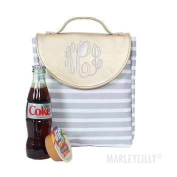 Monogrammed Lunch Box | Marleylilly