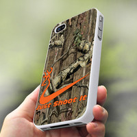 Nike Shoot It Browning - Personalized Case for iPhone 4/4s, 5, 5s, 5c, Samsung S3, S4