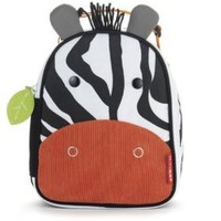 Skip Hop Zoo Lunchie Insulated Lunch Bag, Zebra