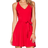 Amanda Uprichard Louisa Dress in Red