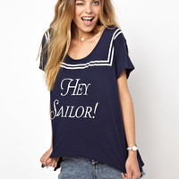 Wildfox Hey Sailor T-Shirt at asos.com