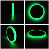 1cmx3m Reflective Tape Car Stickers Luminous Warning Glow Dark Night Tapes Safety Auto Home Styling Accessories