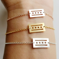 Chicago Flag Bracelet - I Love Chicago! A Daily Reminder of How Much You Love the Windy City