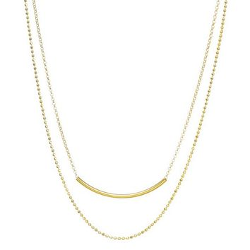 Double Layer Dainty Necklace