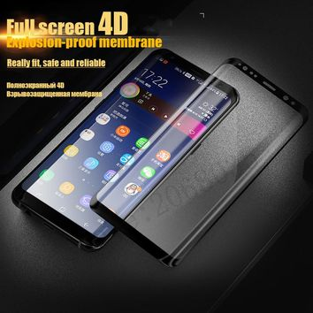 3D Curved Full Tempered Glass For Samsung Galaxy S8 Plus Screen Protector Film Cover Explosion-proof For Samsung S8 Note 8 Glass
