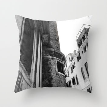 Italy Architecture Throw Pillow by Kayleigh Rappaport