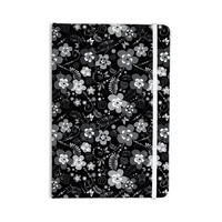 "Suzanne Carter ""Diasy Daisy"" Black Gray Everything Notebook"